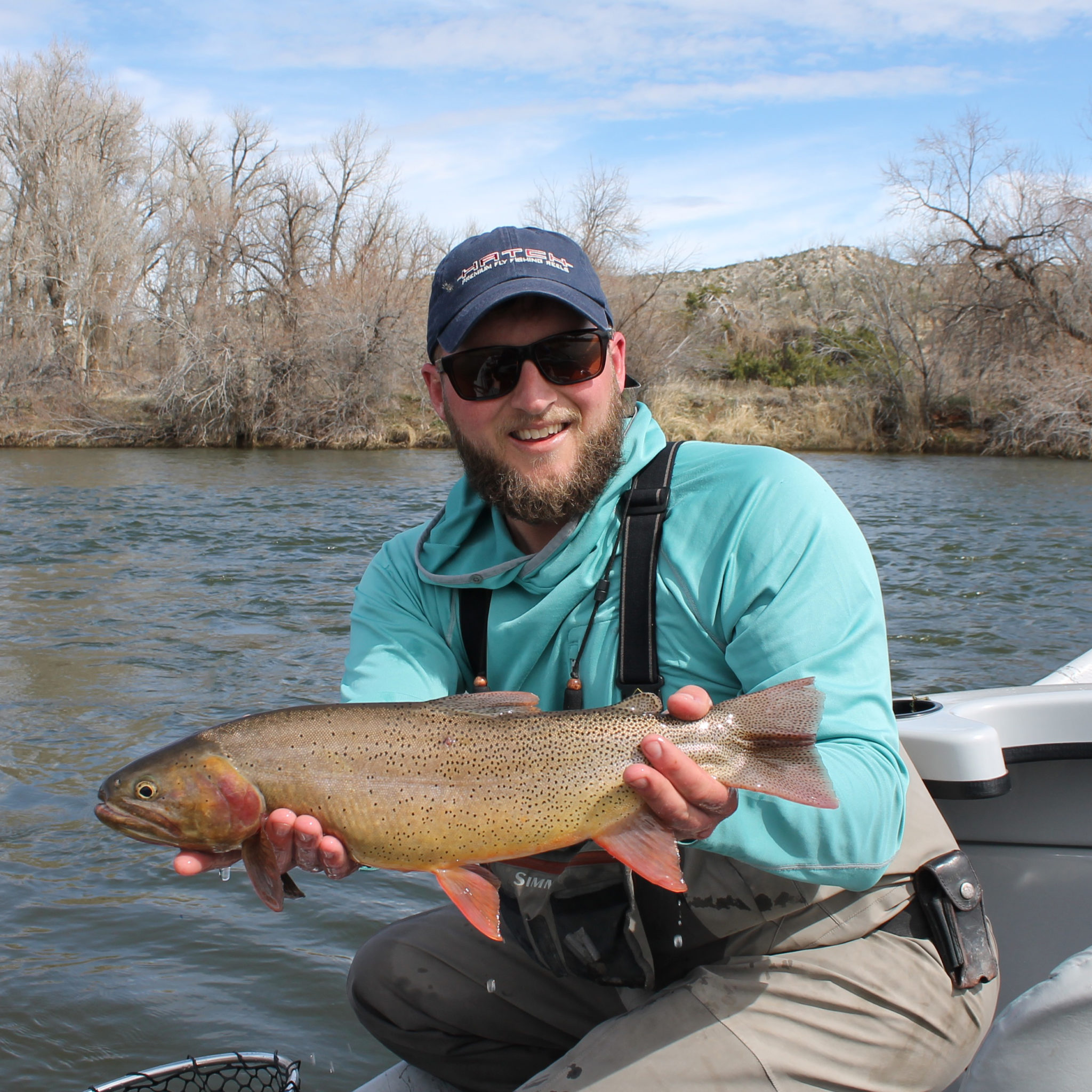 Fly fishing utah wyoming with dreamcatcher outdoors for Trout fishing utah
